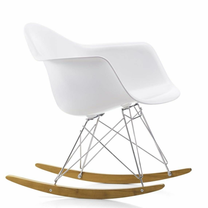 famous architects Charles and Ray Eames rocking chair
