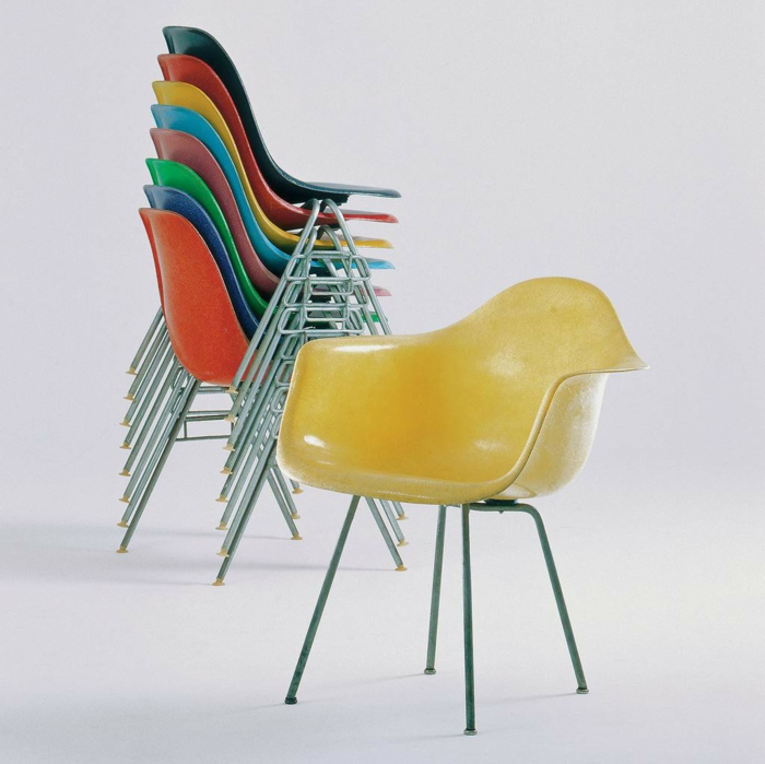 famous architects Charles and Ray Eames chairs