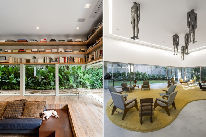 famous architects isay weinfeld lounge house