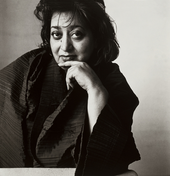 famous architects zaha hadid portrait