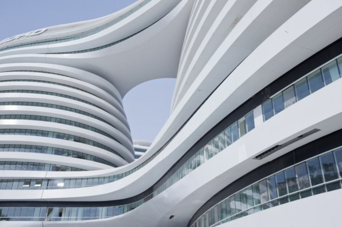 famous architects zaha hadid shoes building