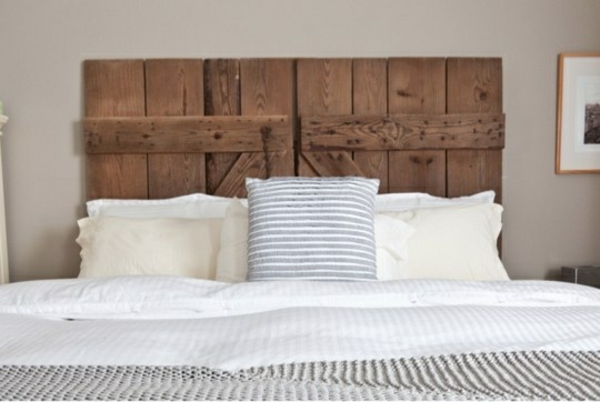 headboard diy wood