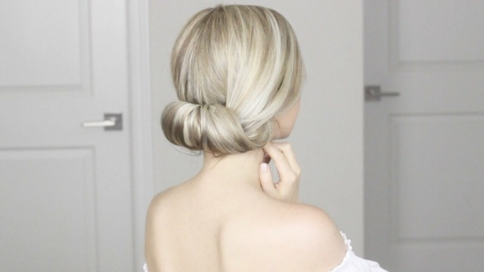 blonde-hair-updo-do it yourself-