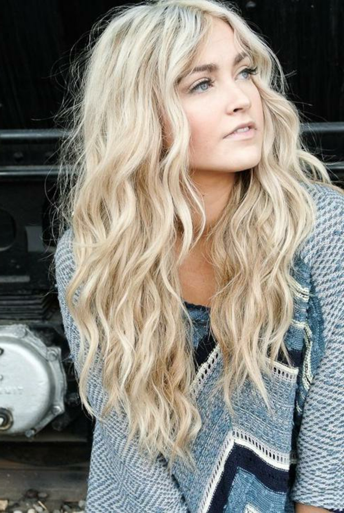 blond tones blond wavy hairstyles lifestyle