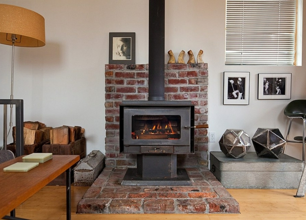 store firewood properly open brick fireplaces