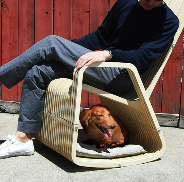 cool gift ideas for dogs armchair wood