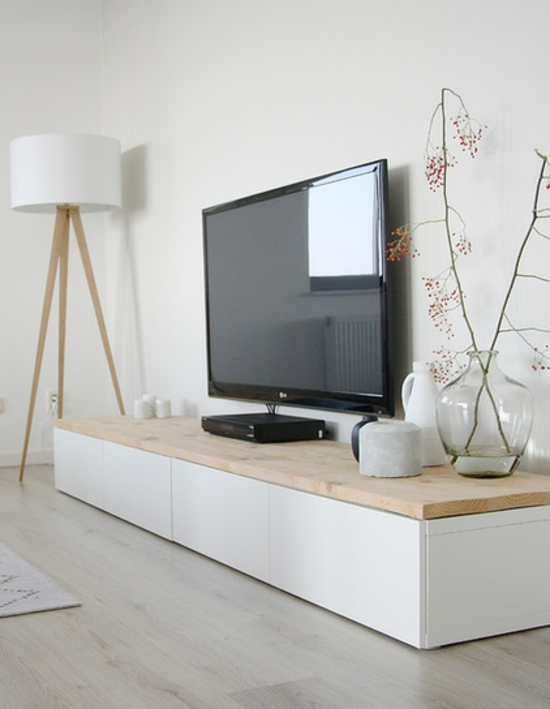 cool furnishing ideas city apartment set up television wood
