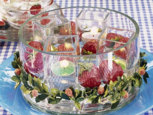 cool candles ideas summer strawberry glass viewpoint
