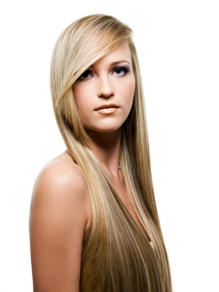 hairstyles hair trends blonde long smooth