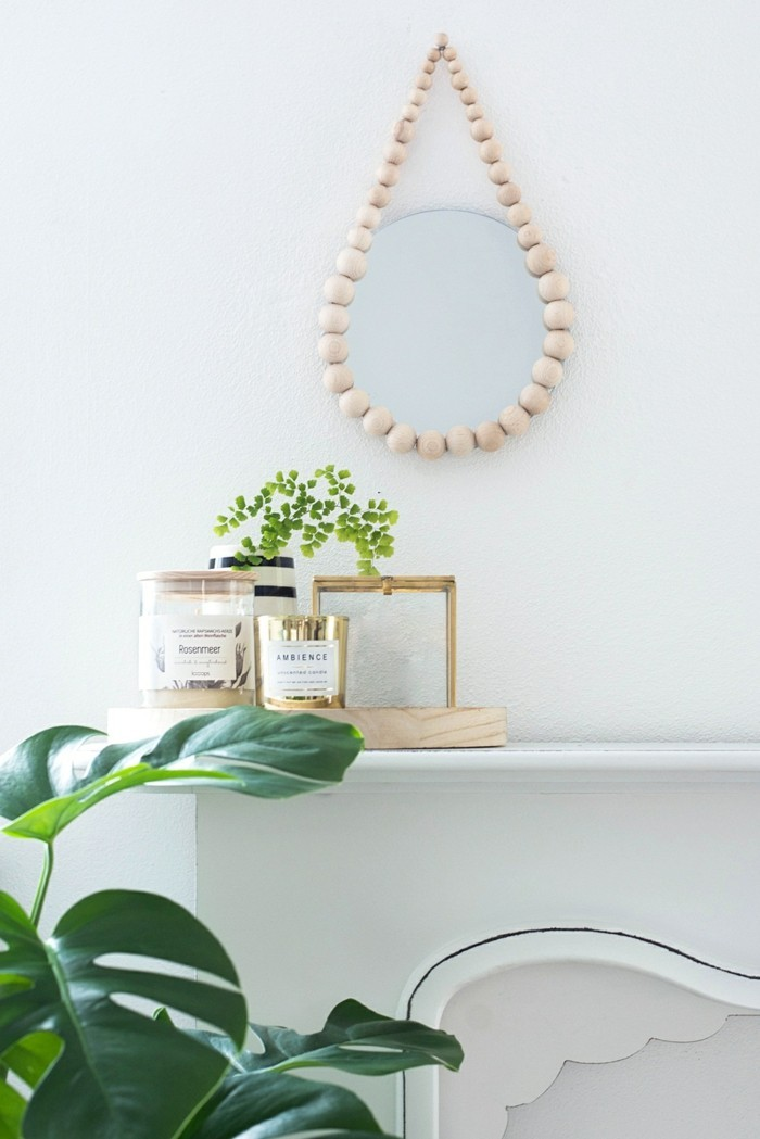 deco-ideas-selbermachen-mirror-frame-decorating