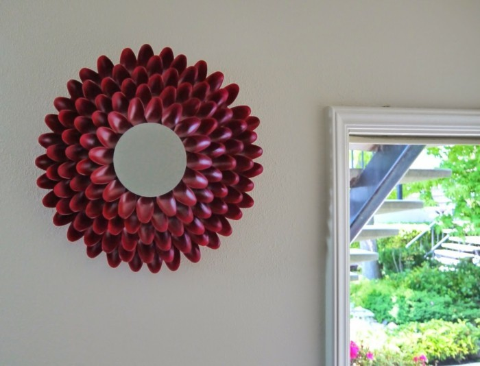 deco-ideas-make-yourself wall mirror-mirror frame
