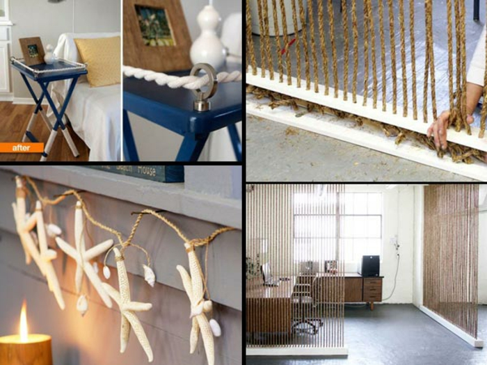 decoration ideas guide rope decoration DIY project