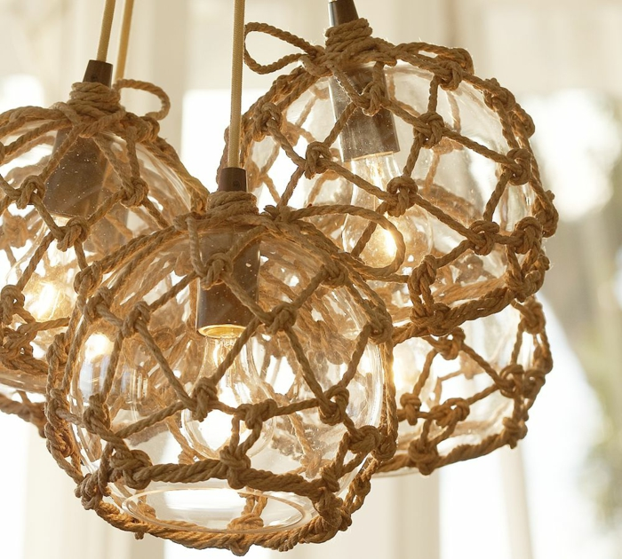 furnishing examples deco-rope rope decoration seagull light