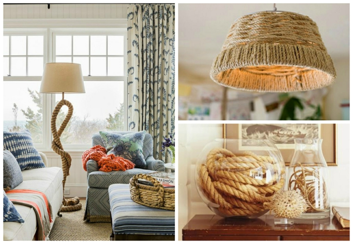 furnishing examples decoide rope decoration floor lamps