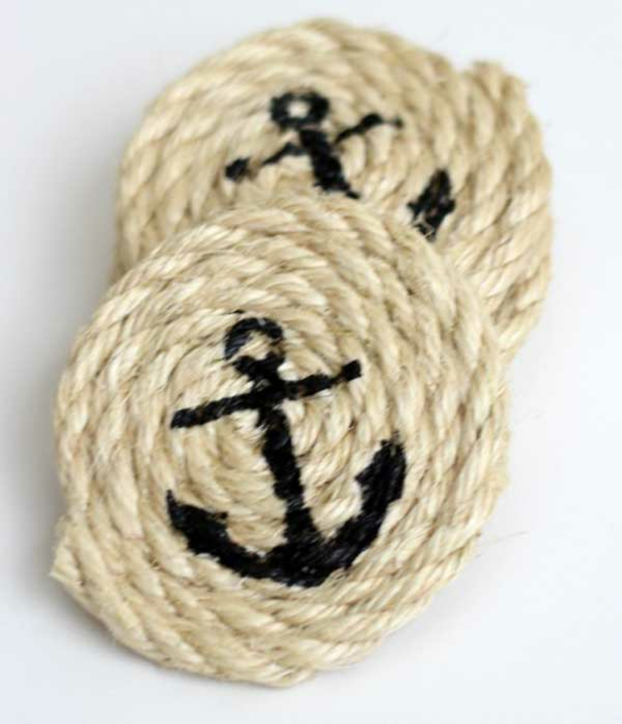 furnishing examples deco rope rope decoration coasters