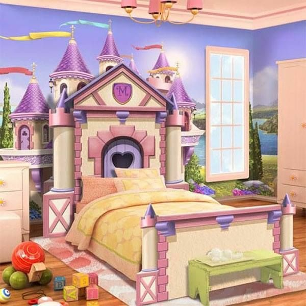deco ideas for wall children's bedroom