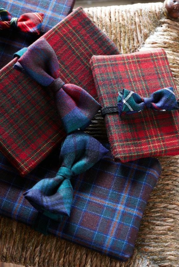 DIY Ideer Gaver Beautiful Packaging Tartan