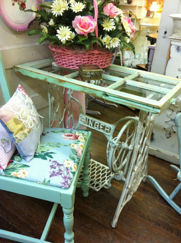 DIY project from old sewing machine
