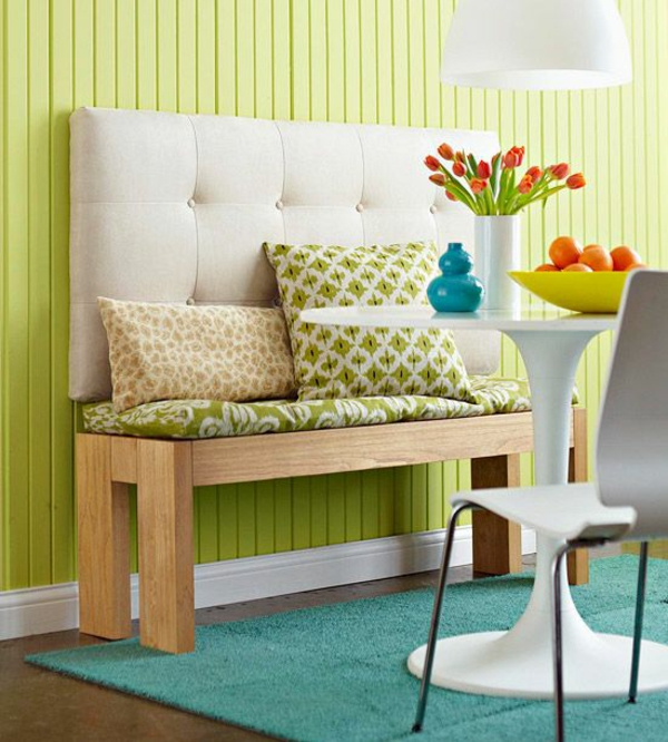 diy projects bench yourself build wood throw table