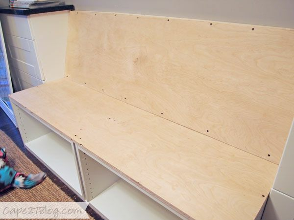diy projects bench build yourself