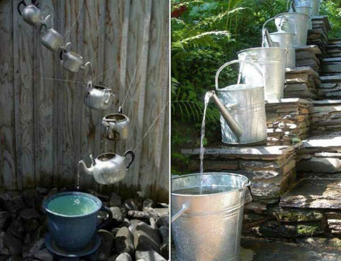 diy home garden ideas diy irrigation teapots