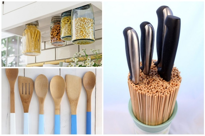 DIY home ideas make creative kitchen ideas yourself