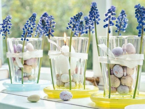 original decoration suggestions for easter spring flowers