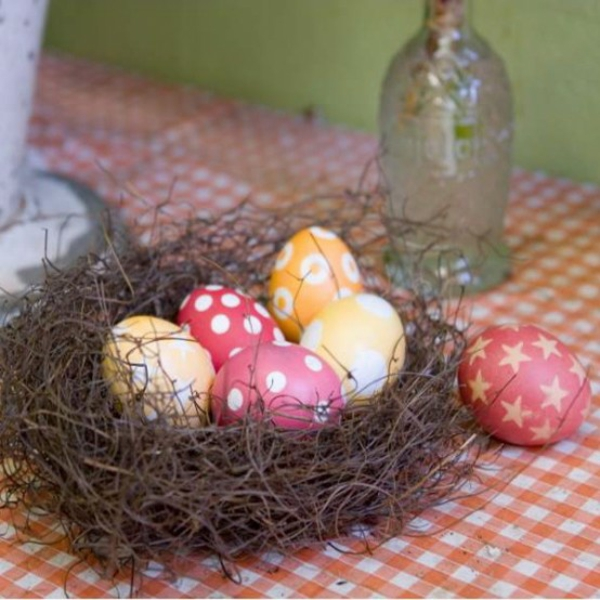 Impressive decoration ideas for Easter - 48 beautiful tables