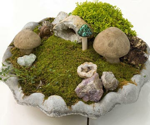 a mini garden shape miniature meadow