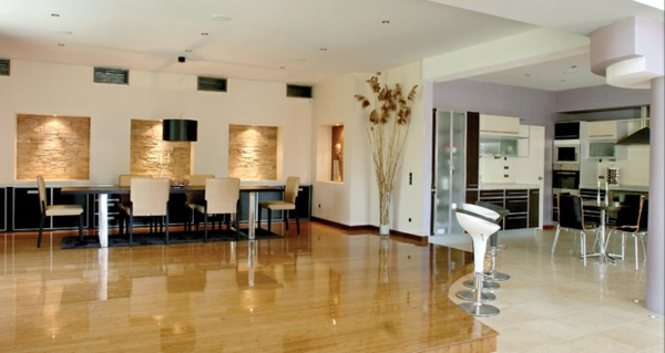 furnishing flat flooring lights