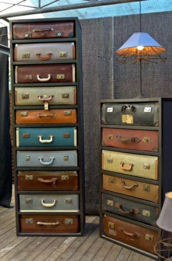 furnishing ideas furniture modern suitcase wardrobe