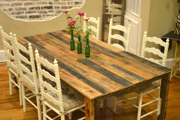 europalette diy dining table sturdy