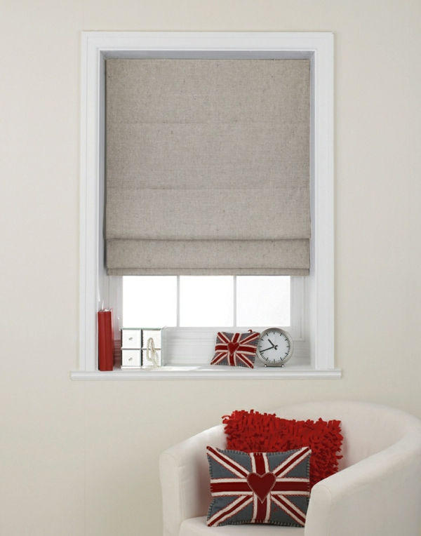 faltrollo itself sew window decor visor living room roman blinds