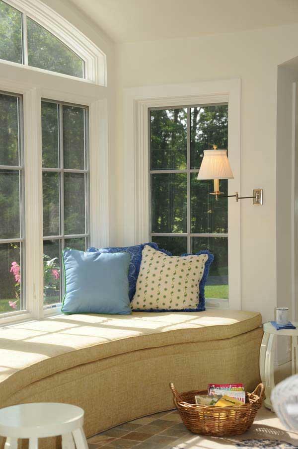 cozy window seats and bay windows - 36 cool current ideas