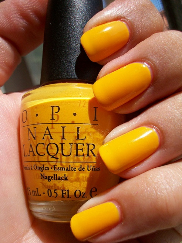french nail design gallery nail art monochrome yellow