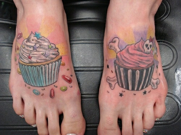 foot tattoo designs tattoos pictures of cake