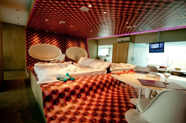 futuristic bedroom designs extravagant in upholstery