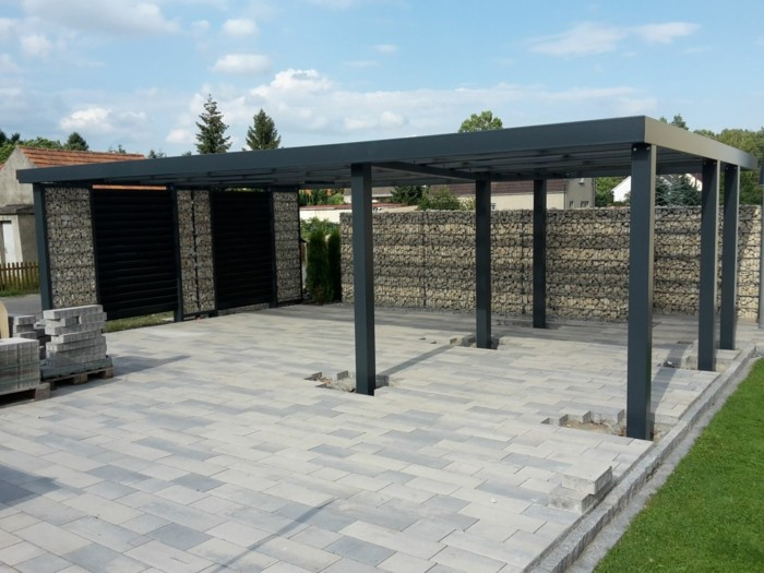 gabions carport kit ideer
