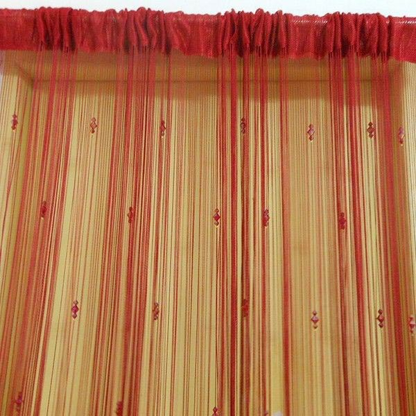 decorations curtains red curtains