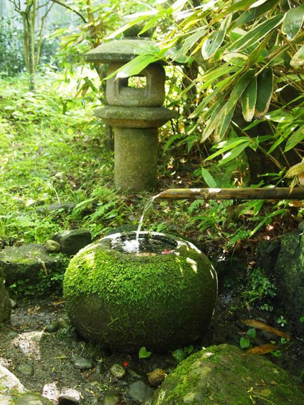 Garden Ideas Paisagismo Feng Shui Japanese Art Fountain