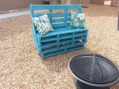 Bench seat DIY project spring design wood metal