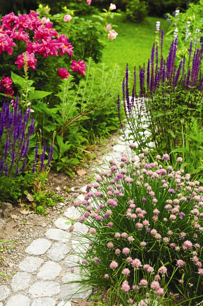 garden ideas garden planting deco flowers flower garden path