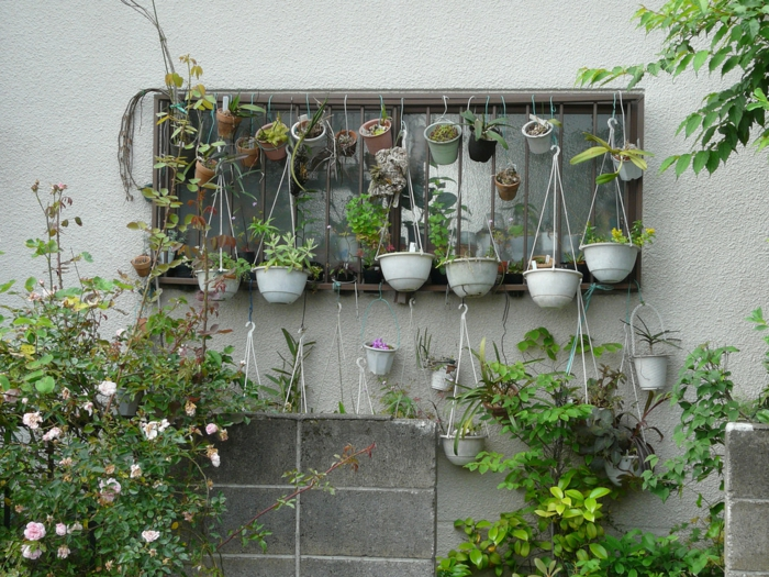 garden ideas garden decoration flower pots hanging garden plants