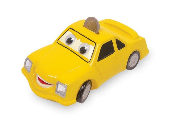 save money funny money boxes designs yellow car