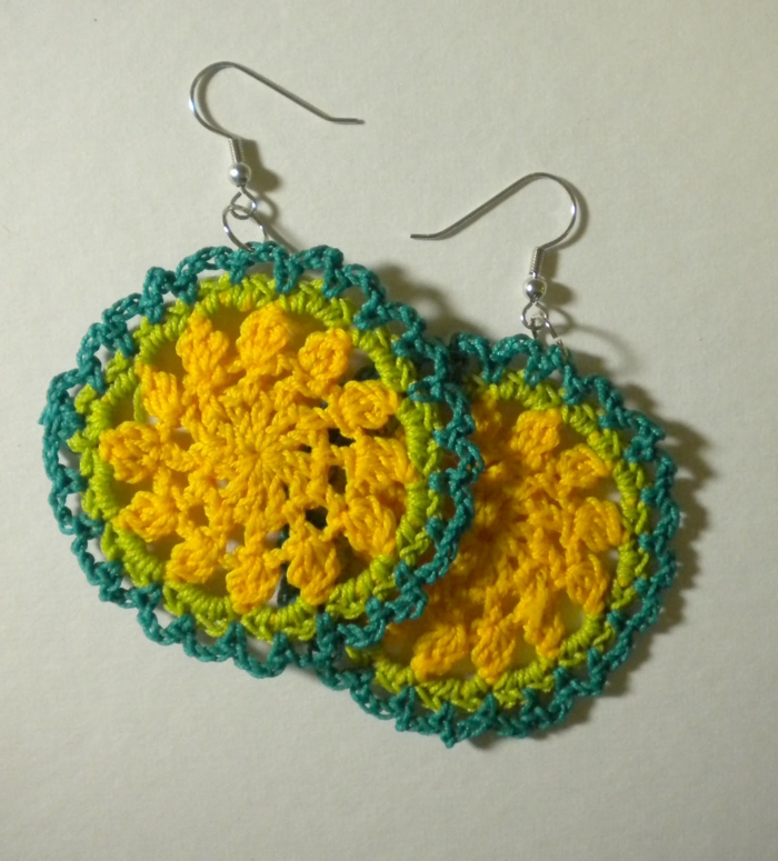 crochet pattern cool earrings crochet ideas alrededor