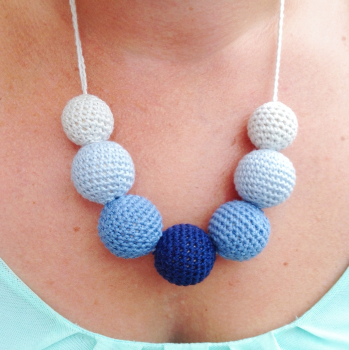 crochet ideas collar crochet bolas