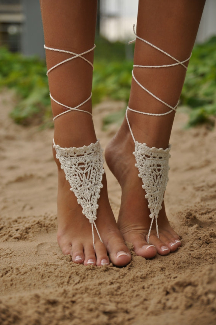crochet ideas verano sandalias crochet diy ideas