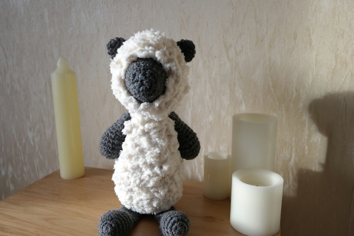 Crochet animals make sheep crochet deco ideas