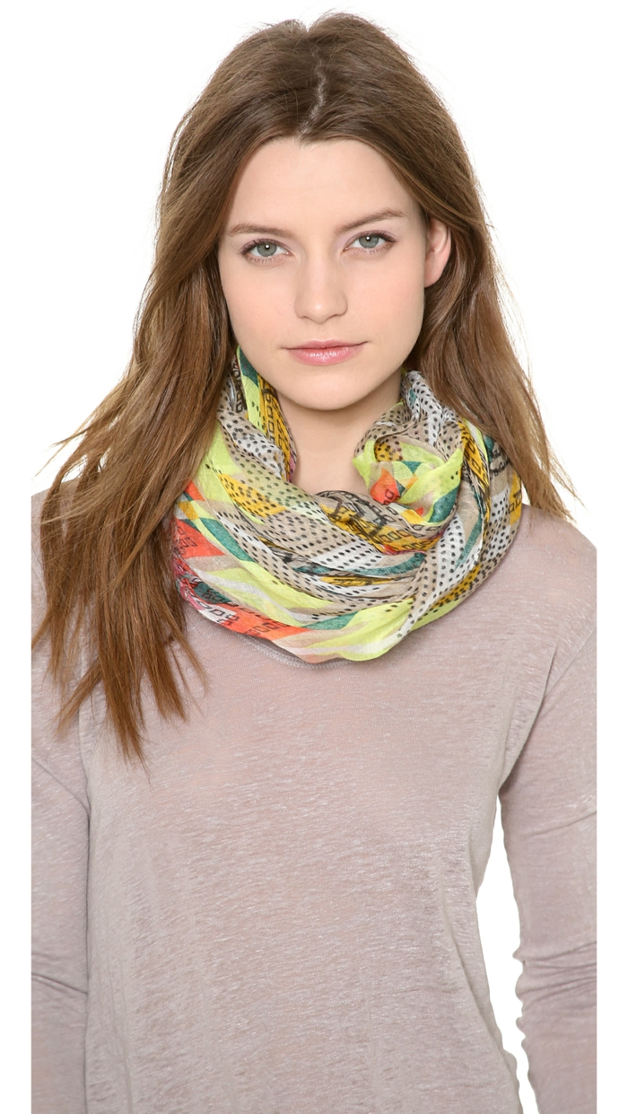 neckerchief bind silk spring variants to bind and wear wrapped invigorating