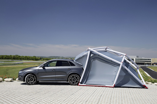 home planet camping tent audi Q3